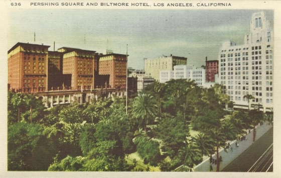 Pershing Square of yesteryear.